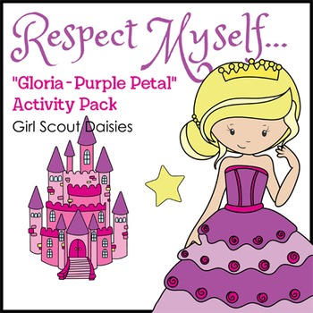 "Respect Myself... - Girl Scout Daisies - ""Gloria - Purple"