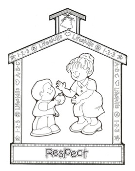 Respect Song -  MP3, Lyrics, & Coloring Page