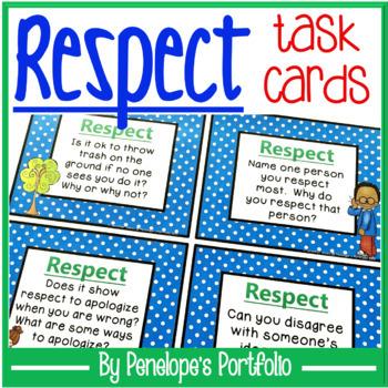 Respect Task Cards
