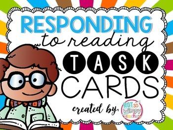 Responding to Reading Task Cards