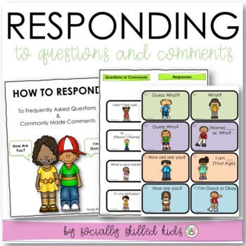 SOCIAL SKILLS: Conversation~ Responding To Others