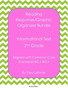 Response Journal/Graphic Organizer Informational Bundle 2n