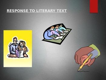 Response to Literary Text Presenation