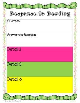 Response to Reading Text
