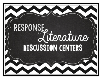 Response to literature centers chevron