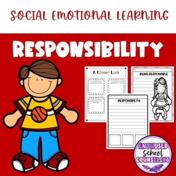 Responsibility Acitivity Pack- 8 Activites, Awards and Vou