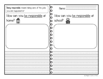 Responsibility: Home and School