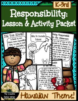 Responsibility Mini Curriculum! {Hawaii Theme}