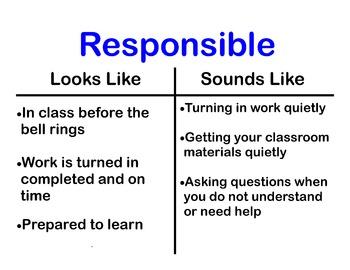 Responsible Poster