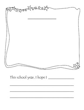 Responsive Classroom Hopes and Dreams