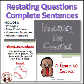 Restating the Question: Teaching Students How to Write Com