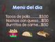 Spanish speaking ..El Restaurante/ Restaurant Dramatic Play