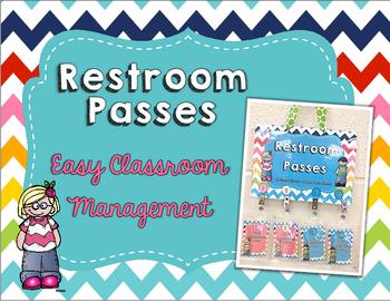 Restroom Passes- Easy Classroom Management