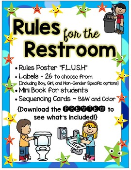 Restroom Rules