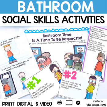 Restroom Time Is A Time To Be Respectful (A Social Story)