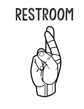 Restroom, Tissue, Water Signals
