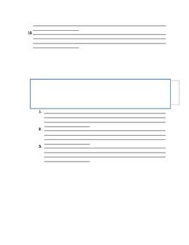 Resume Brainstorm