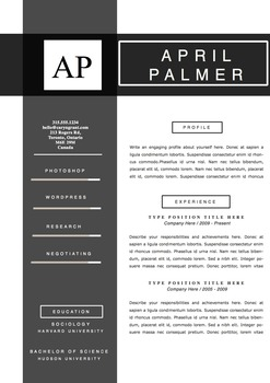 Resume  Design Template  References, and Coverletter Set,