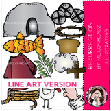 Resurrection part 1 by Melonheadz LINE ART
