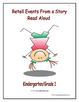 Retell Events From a Story Read Aloud: Introduce/Practice/Assess