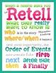 Retell Poster & Magnet Set ~ Retelling Manipulatives!