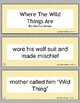 Retell and Sequencing Cards: Where The Wild Things Are- Gr