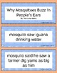 Retell and Sequencing Cards: Why Mosquitoes Buzz in People's Ears