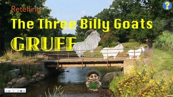 Retelling The Three Billy Goats Gruff - Clipart & SmartBoa