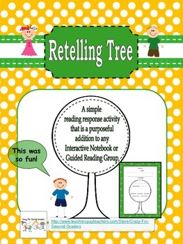 Retelling Tree: For Interactive Notebooks or Guided Readin