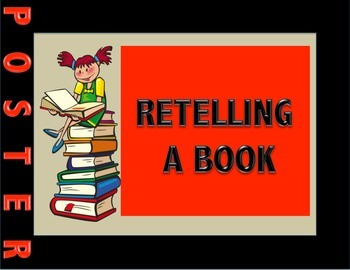 Retelling a Book Poster