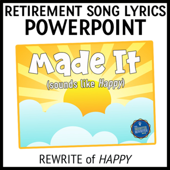 Retirement Song Lyrics PPT
