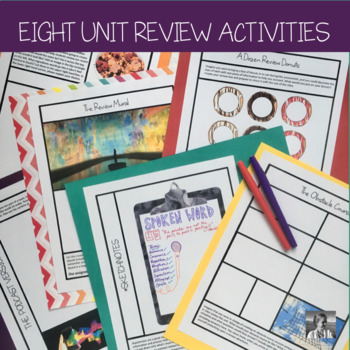 Review Activities for ANY Material, All Disciplines 6-9