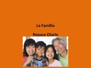 Review Family Members in Spanish