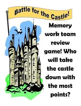 Review Game:  Battle for the Castle (Cycle 2)