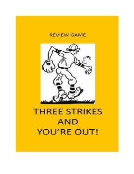 Review Game For Any Classroom:  Three Strikes and You're Out!