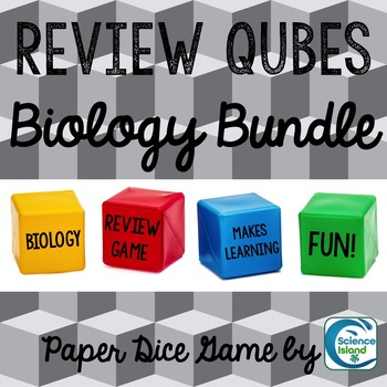 Review Qubes for Biology BUNDLE