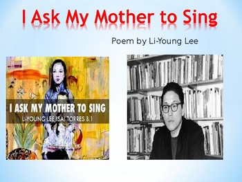 """Review and Analysis of """"I Ask My Mother to Sing"""" by Li-Young Lee"""