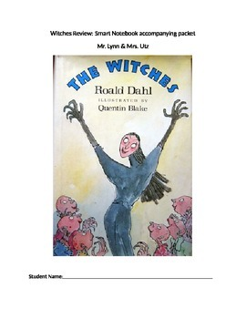 Review for Roald Dahl's The Witches: Accompanying student packet