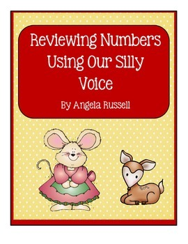 Reviewing Numbers Using Our Silly Voice ~ 1-50