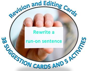 Revise and Edit: 38 cards with revision and editing sugges