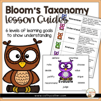 Revised Bloom's Questions Guide - Owls