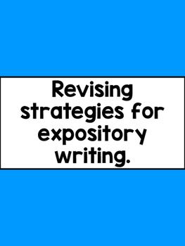 Revising Strategies
