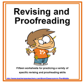 Revising and Proofreading Worksheet Set