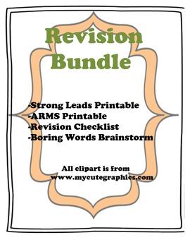 Revision Bundle (CCSS Aligned)