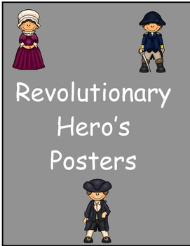 Revolutionary Hero's Posters
