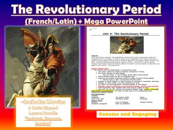 The Revolutionary Period:French to Latin American Lesson B