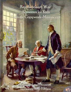 Revolutionary War Activities for Kids: Patriotic Copywork
