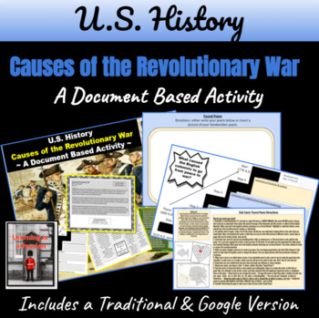 Revolutionary War Causes: From Peace to War Document Based