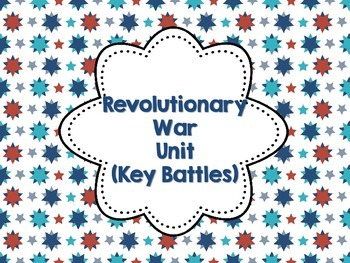Revolutionary War Key Battles