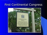 Revolutionary War PowerPoint Series-First Continental Cong